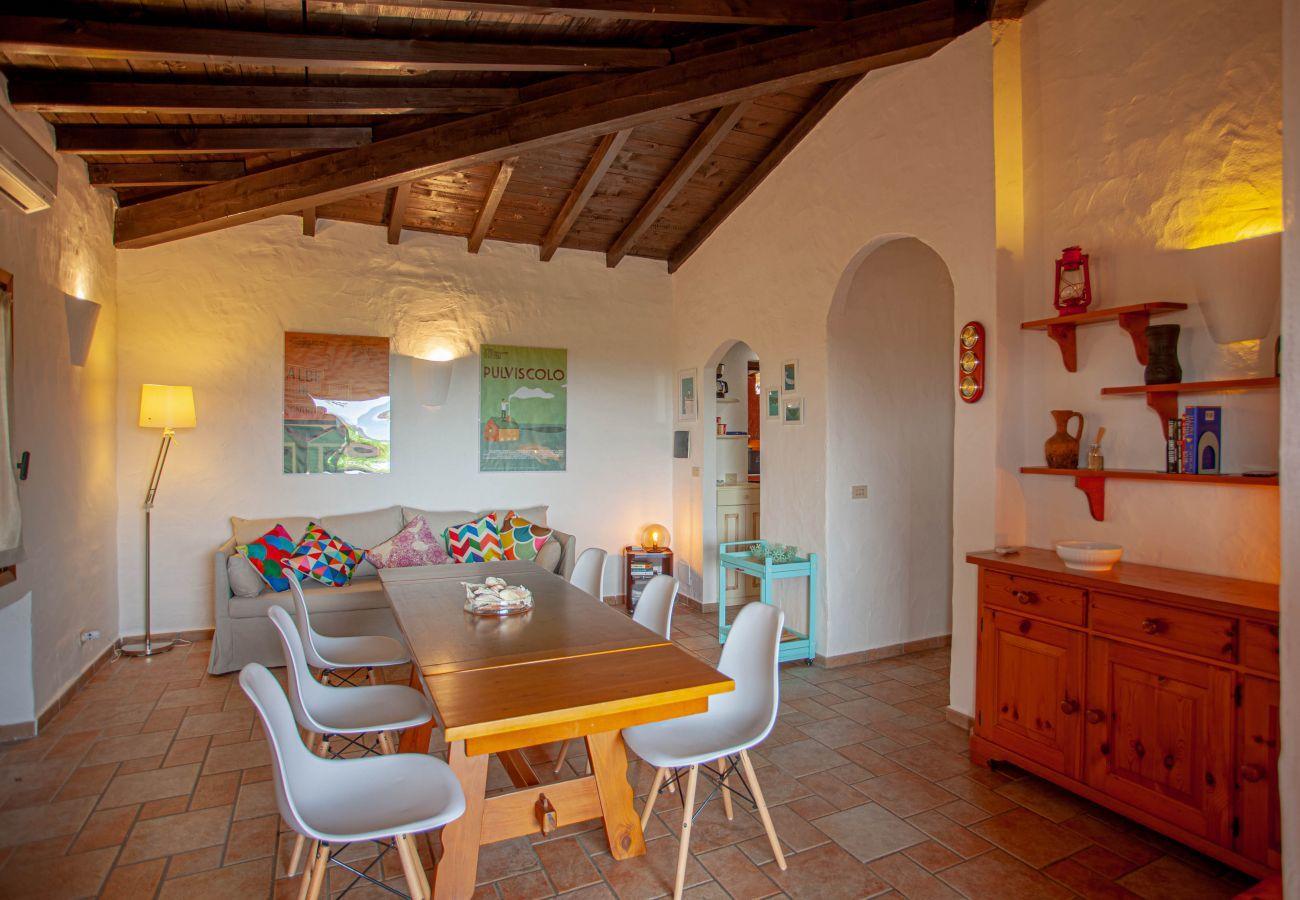 Villa a Olbia - Klodge | Villa Kalè in Costa Corallina: 6 ospiti, wifi, vista