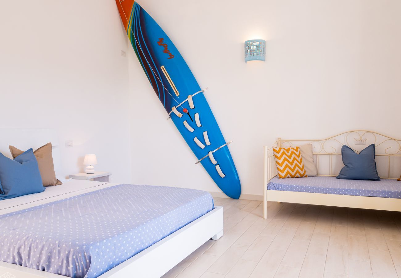 Chalet in Olbia - Klodge | Villetta Bianca: moderne ferienvilla 8 schlafplätze, 400mt strand