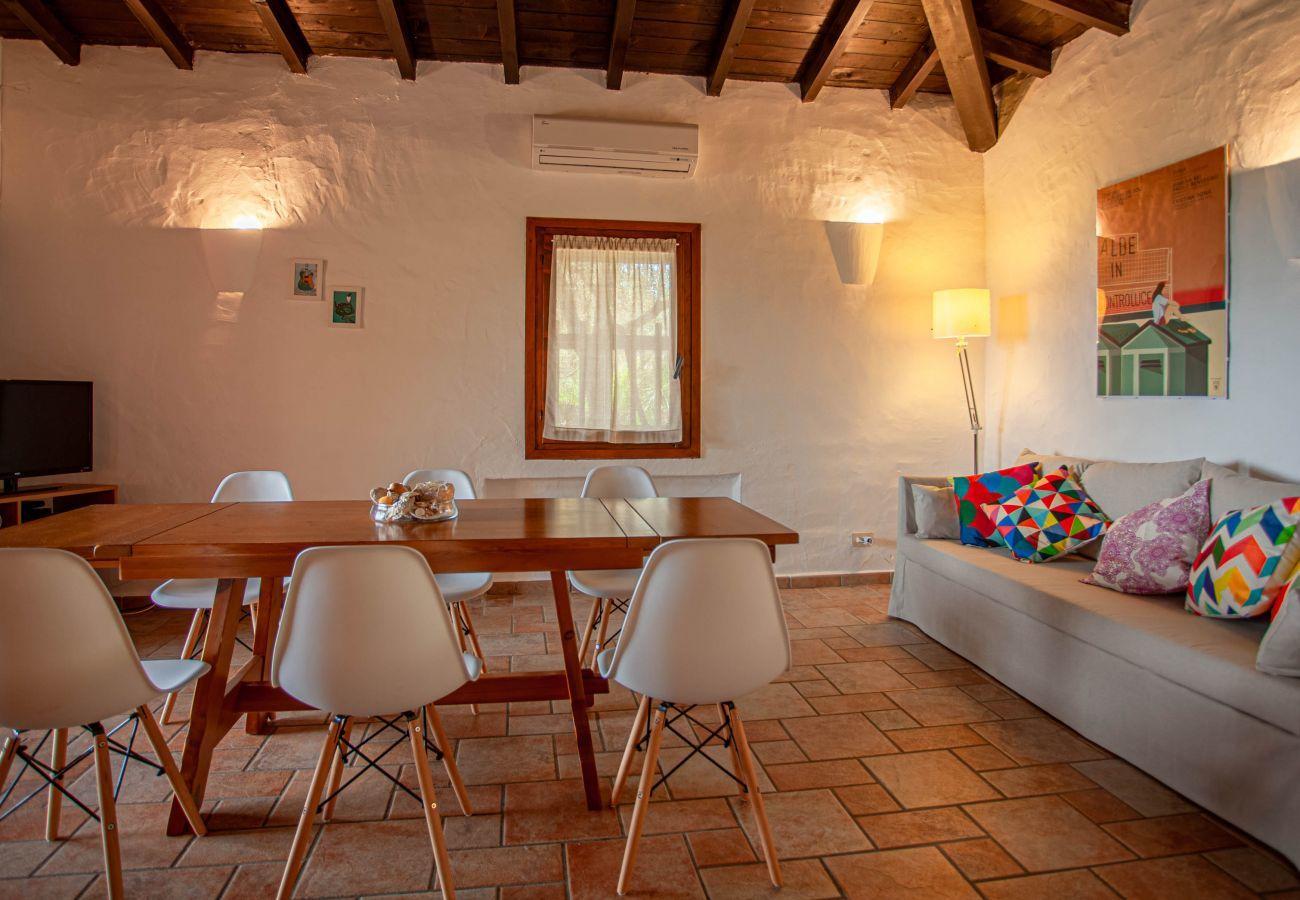 Villa in Olbia - Klodge | Villa Kalè an der Costa Corallina: WLAN, atemberaubende Aussicht
