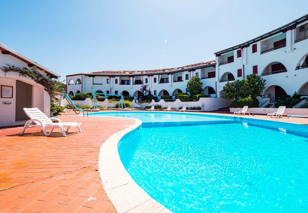 Ferienwohnung in Baia Sardinia - Klodge   Rotonda Cottage 33 - Haus mit Pool in Baja Sardinia