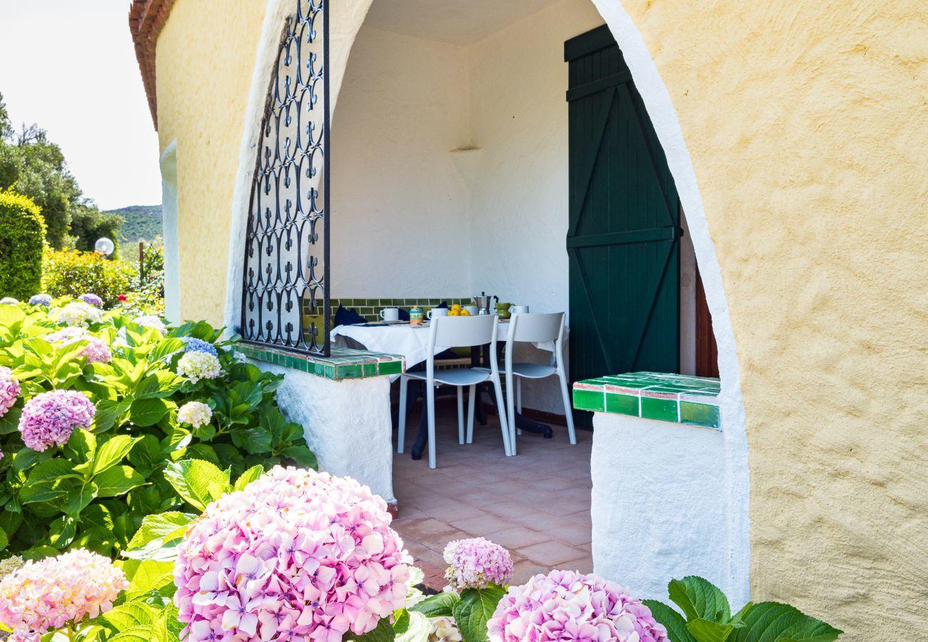 Apartment in Baia Sardinia - Klodge | Rotonda Cottage 33 - house with pool in Baja Sardinia