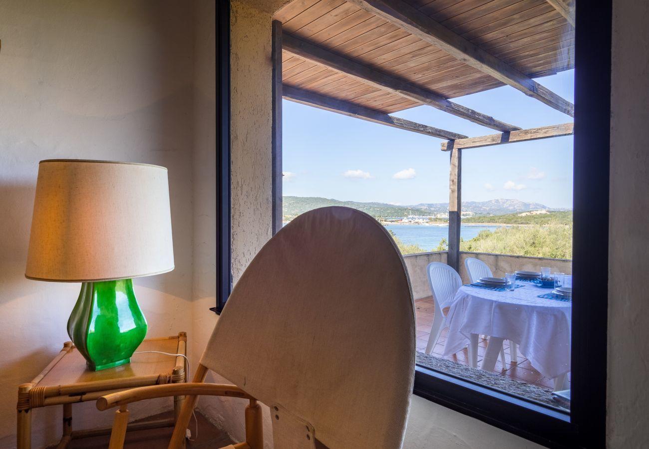 Appartement à Porto Rotondo - Klodge | Caletta 16: 4 personnes, piscine, court de tennis